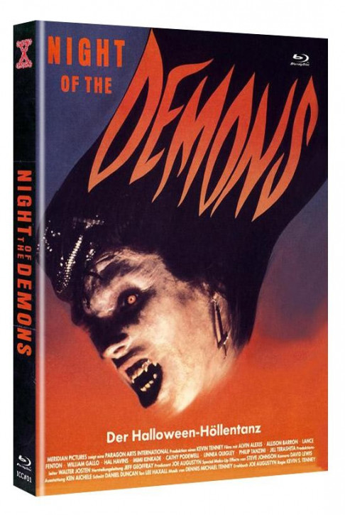 Night of the Demons - Eurocult Collection #001 - Mediabook - Cover A [Blu-ray+DVD]