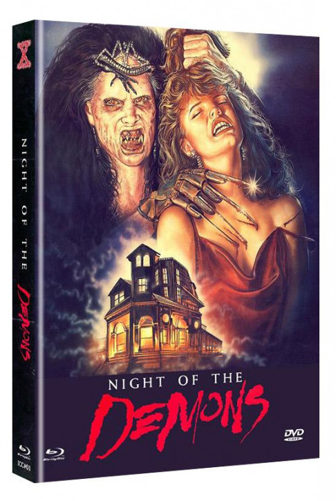 Night of the Demons - Eurocult Collection #001 - Mediabook - Cover B [Blu-ray+DVD]