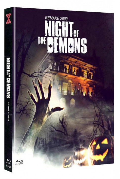 Night of the Demons (Remake) - International-Cult-Collection #2 - Mediabook - Cover B [Blu-ray+DVD]