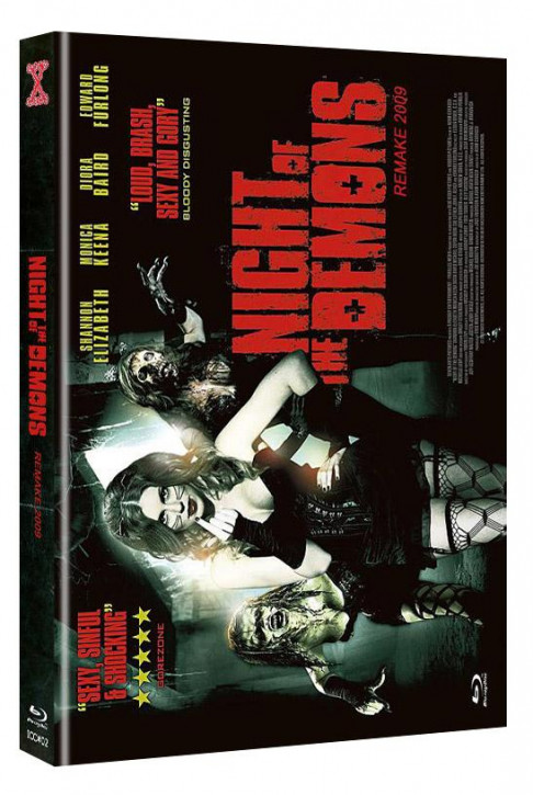 Night of the Demons (Remake) - International-Cult-Collection #2 - Mediabook - Cover C [Blu-ray+DVD]