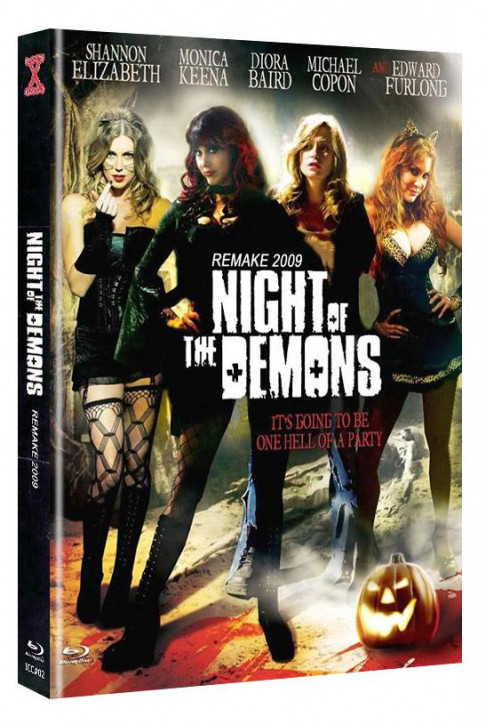 Night of the Demons (Remake) - International-Cult-Collection #2 - Mediabook - Cover D [Blu-ray+DVD]