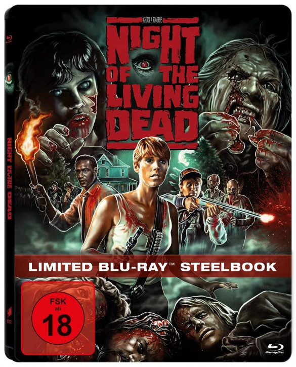 Night of the Living Dead - Steelbook [Blu-ray]