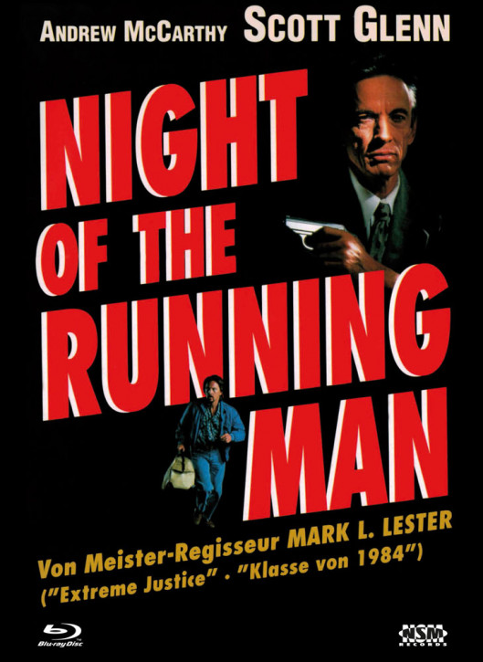 Night of the Running Man - Limited Collector's Edition - Cover A [Bluray+DVD]