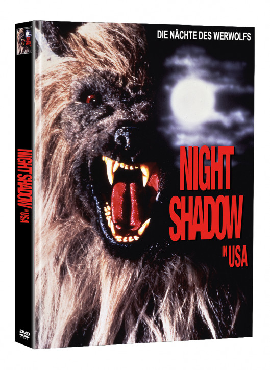 Night Shadow in USA - Limited Mediabook Edition - Cover A (Super Spooky Stories #138) [DVD]