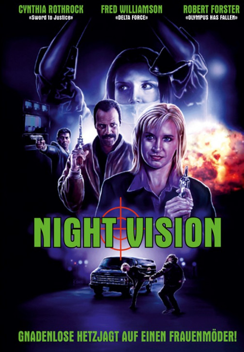 Night Vision - Limited Mediabook Edition - Cover A [Blu-ray+DVD]