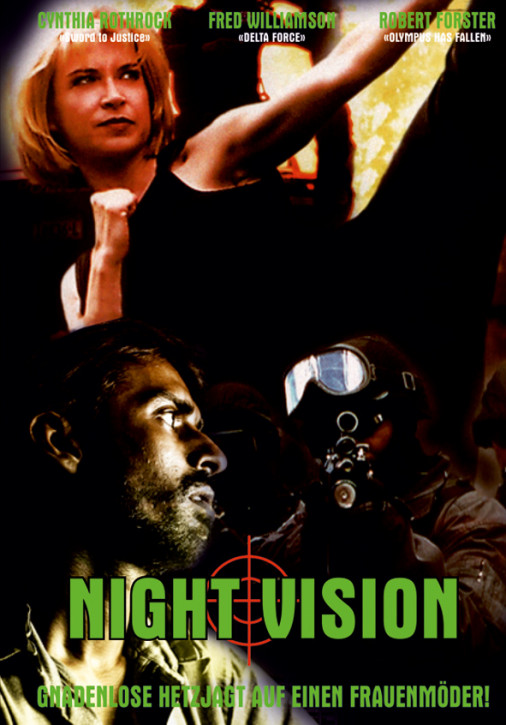 Night Vision - Limited Mediabook Edition - Cover B [Blu-ray+DVD]