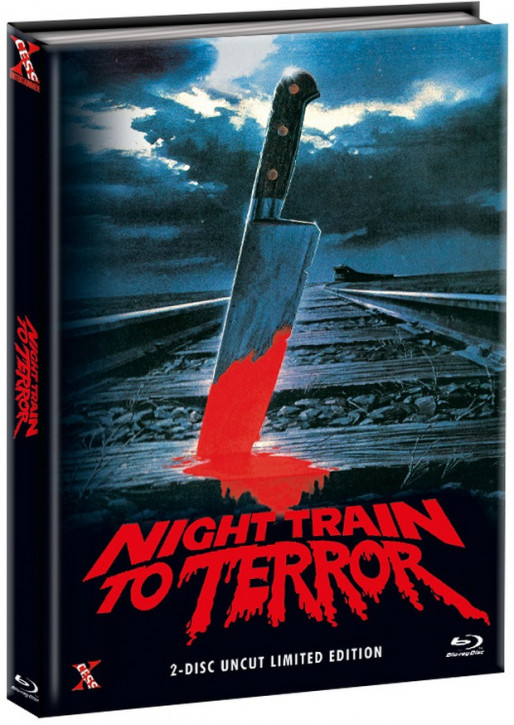 Night Train to Terror - Mediabook - Cover A [Bluray+DVD]