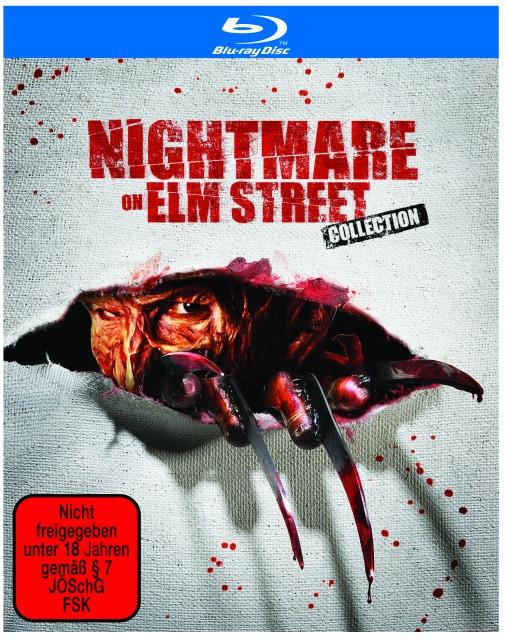 Nightmare on Elm Street - 1-7 Limited Uncut Edition [Blu-ray]