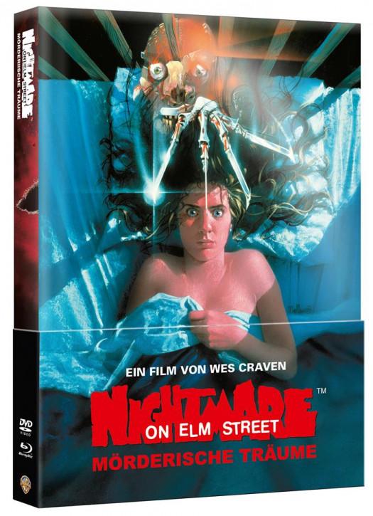 Nightmare on Elm Street - Teil 1 - Limited Wattiertes Mediabook [Blu-ray+DVD]