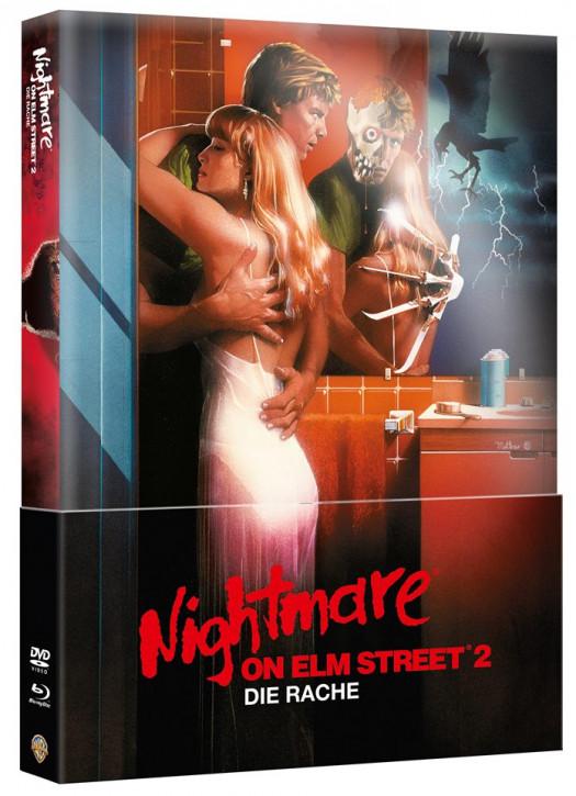 Nightmare on Elm Street - Teil 2 - Limited Wattiertes Mediabook [Blu-ray+DVD]