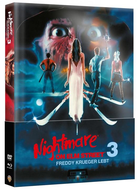 Nightmare on Elm Street - Teil 3 - Limited Wattiertes Mediabook [Blu-ray+DVD]