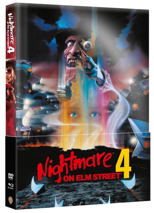 Nightmare on Elm Street - Teil 4 - Limited Wattiertes Mediabook [Blu-ray+DVD]