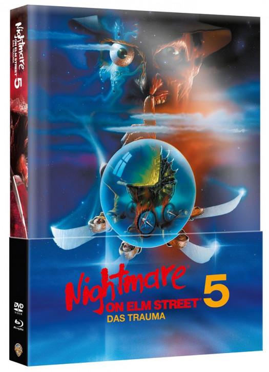 Nightmare on Elm Street - Teil 5 - Limited Wattiertes Mediabook [Blu-ray+DVD]