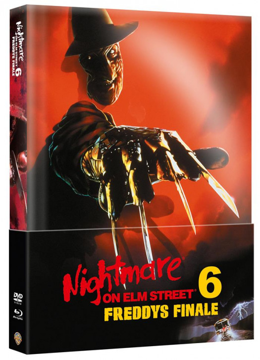 Nightmare on Elm Street - Teil 6 - Limited Wattiertes Mediabook [Blu-ray+DVD]