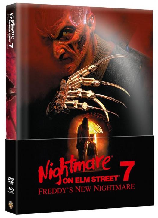 Nightmare on Elm Street - Teil 7 - Limited Wattiertes Mediabook [Blu-ray+DVD]