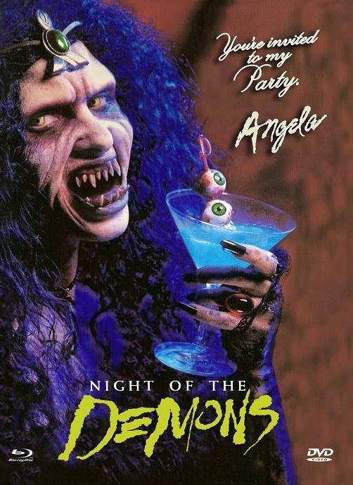 Night of the Demons - Eurocult Collection #001 - Mediabook - Cover E [Blu-ray+DVD]