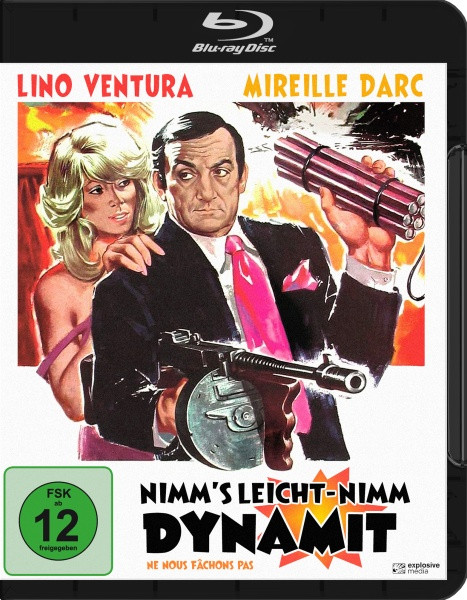 Nimm's leicht - nimm Dynamit [Blu-ray]
