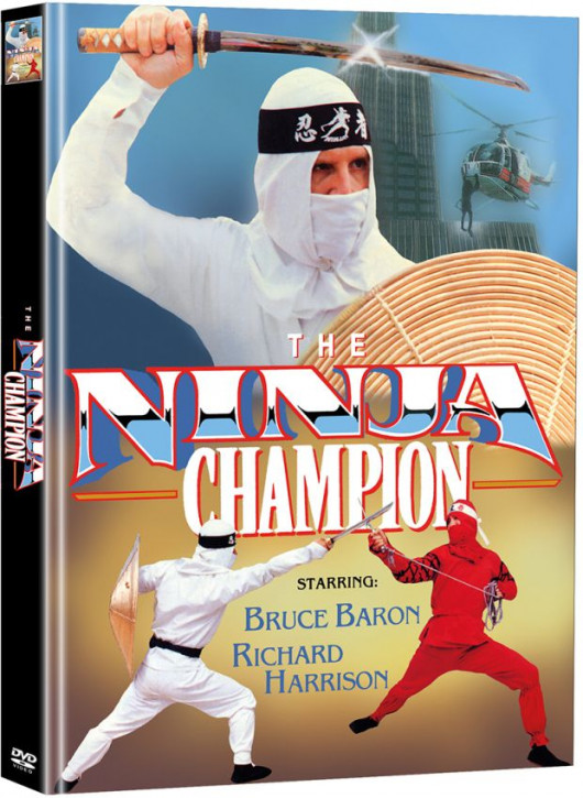 The Ninja Champion - Limited Mediabook Edition - Cover C [DVD]