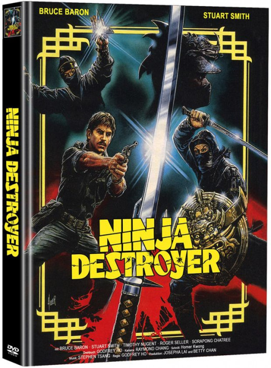 Ninja Destroyer - Limited Mediabook Edition - Cover A [DVD]