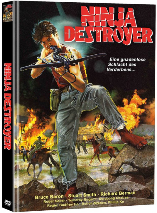 Ninja Destroyer - Limited Mediabook Edition - Cover B [DVD]