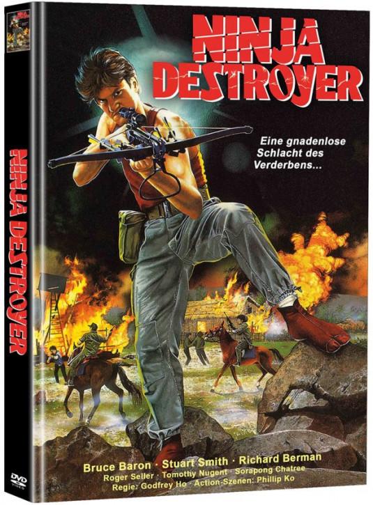 Ninja Destroyer - Limited Mediabook Edition - Cover B [DVD]