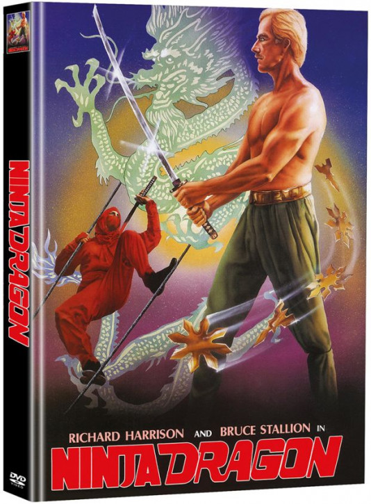 Ninja Dragon - Limited Mediabook Edition - Cover B [DVD]