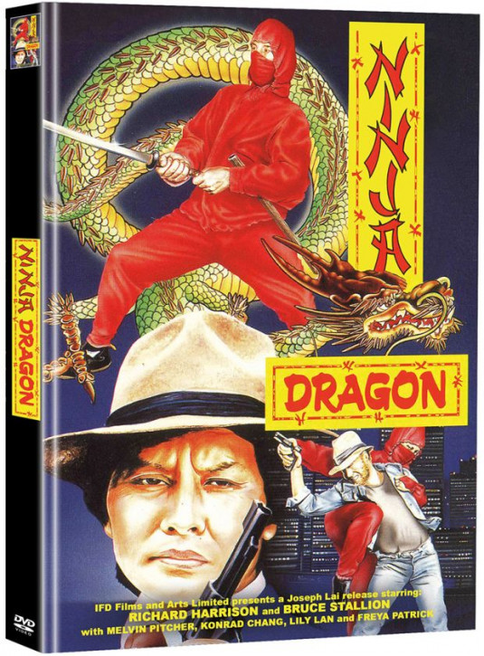 Ninja Dragon - Limited Mediabook Edition - Cover C [DVD]