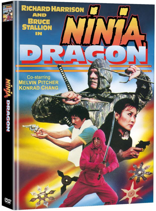 Ninja Dragon - Limited Mediabook Edition - Cover D [DVD]