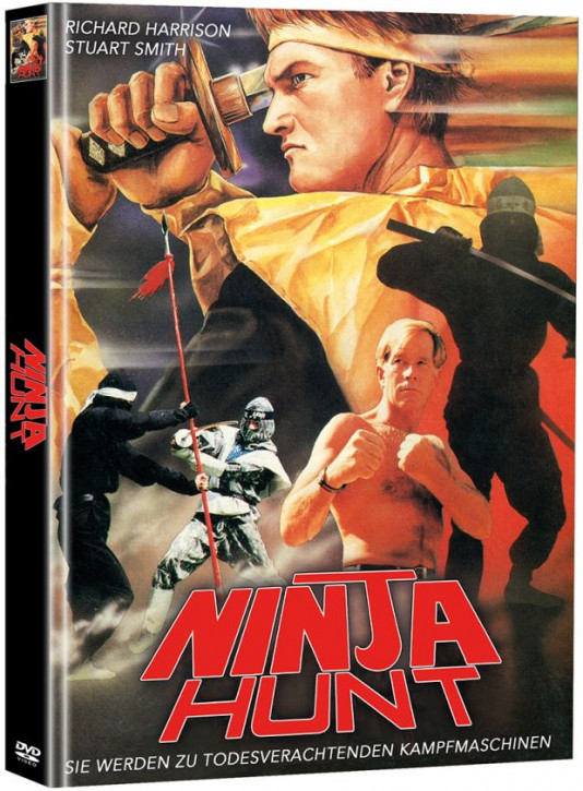 Ninja Hunt - Limited Mediabook Edition - Cover A [DVD]