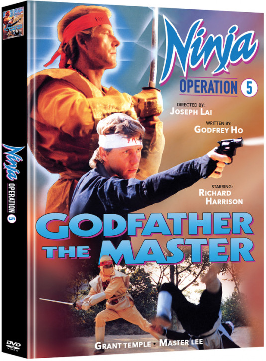 Ninja Operation 5: Godfather the Master - Limited Mediabook Edition - Cover B [DVD]