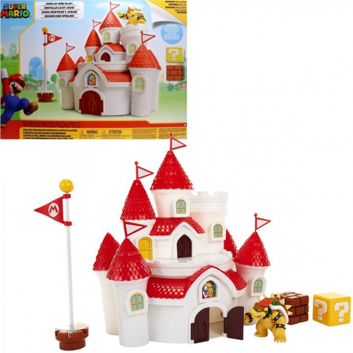 Nintendo Mashroom Kingdom Castle - Spielset