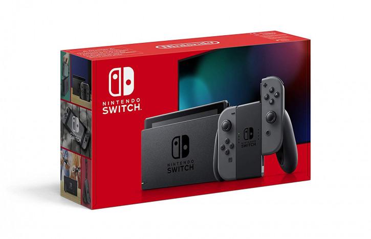 Nintendo Switch Konsole - Grau (2019 Edition)