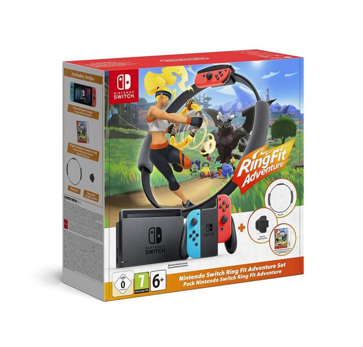Nintendo Switch Konsole - Ring Fit Adventure-Set