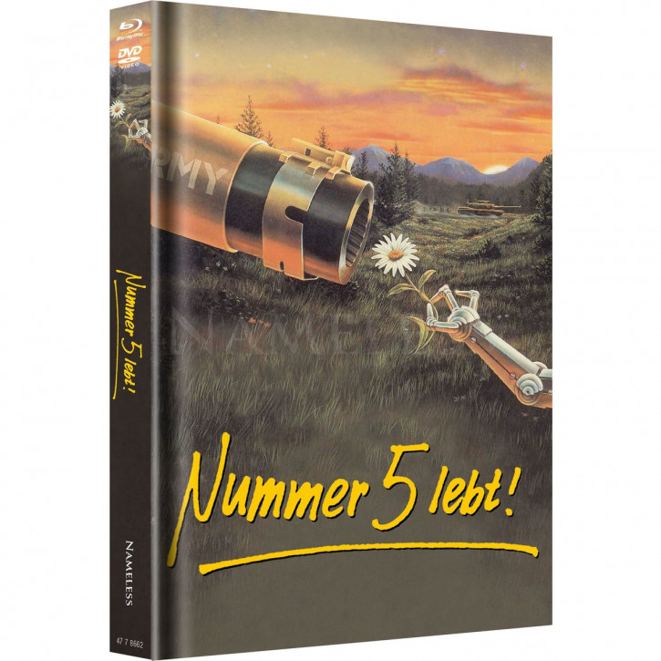 Nummer 5 Lebt - Limited Mediabook Edition - Cover B [Blu-ray+DVD]