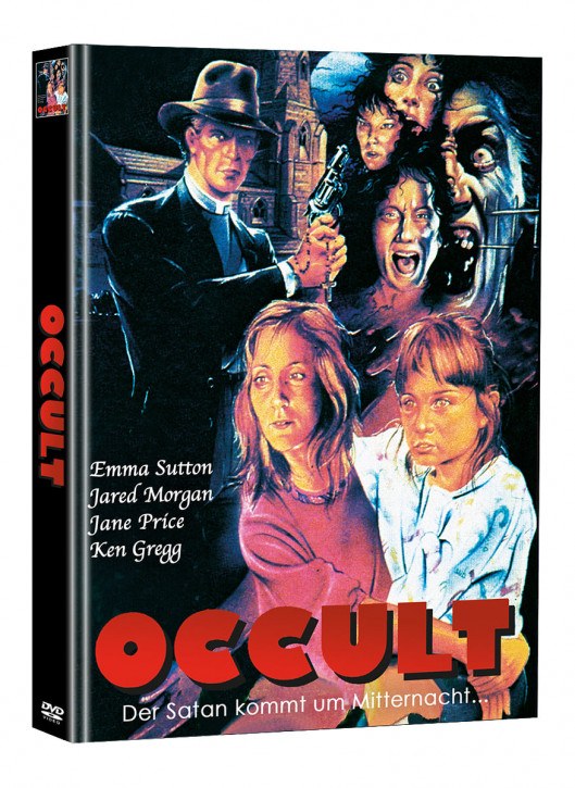 Occult - Der Satan kommt um Mitternacht - Limited Mediabook Edition - Cover B (Super Spooky Stories #165) [DVD]
