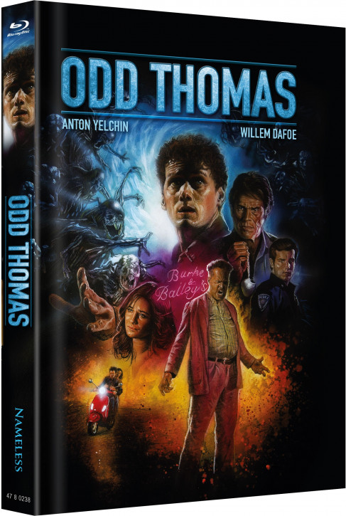 Odd Thomas - Limited Mediabook Edition - Cover A [Blu-ray]