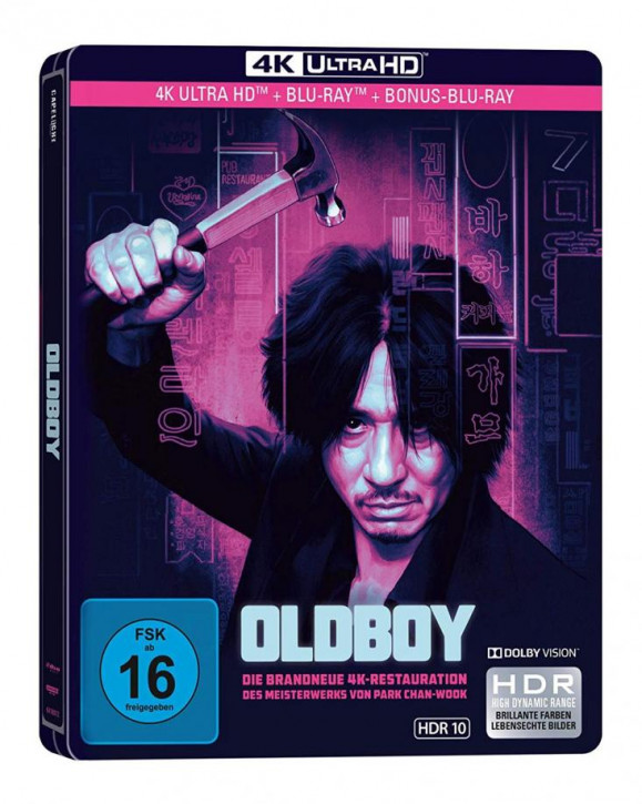 Oldboy - Limited Edition Steelbook [4K UHD Blu-ray]