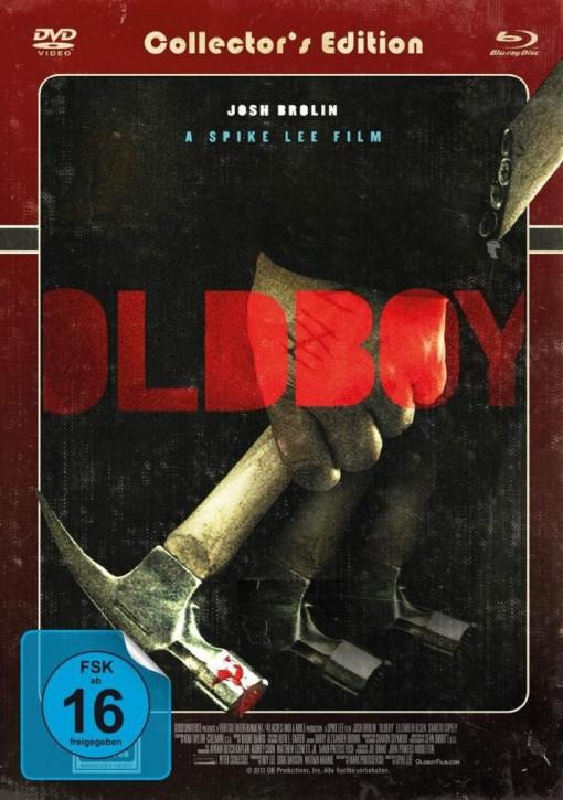 Oldboy - Limited Mediabook (Cover roter Titel) [Blu-ray+DVD]