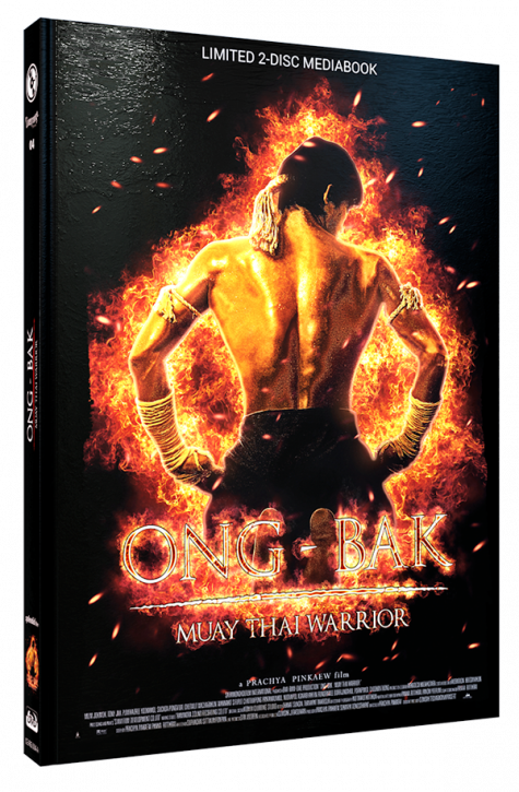 Ong-Bak - Limited Mediabook Edition - Cover A [Blu-ray+DVD]