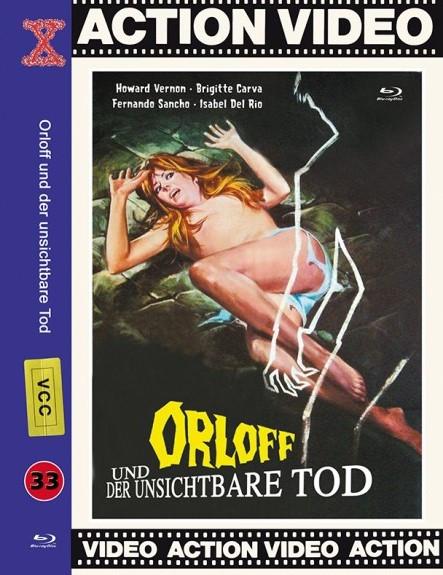 Orloff und der Unsichtbare Tod - große Hartbox - Cover M [Blu-ray]