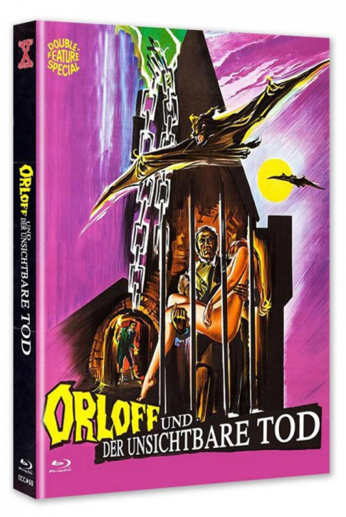 Orloff und der unsichtbare Tod - Eurocult Collection #060 - Mediabook - Cover A [Blu-ray+DVD]