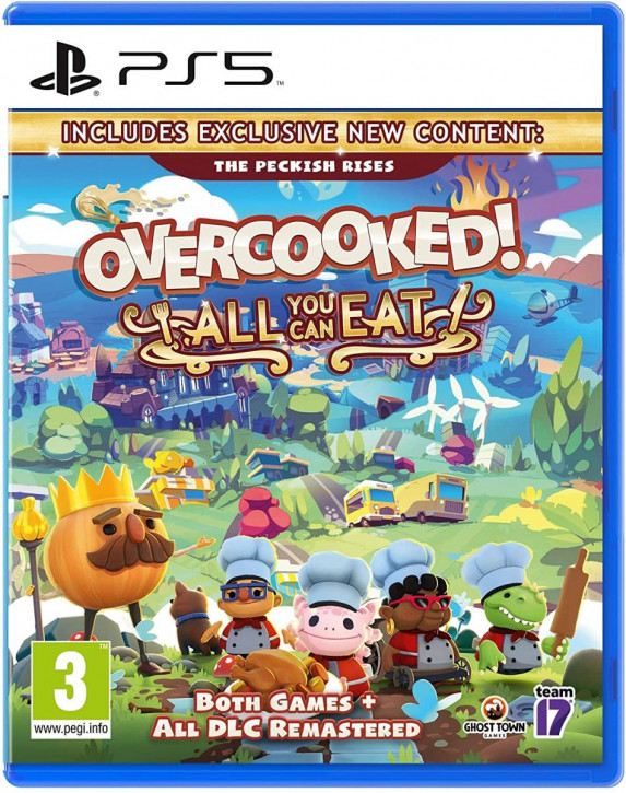 Overcooked all you can Eat [PS5]