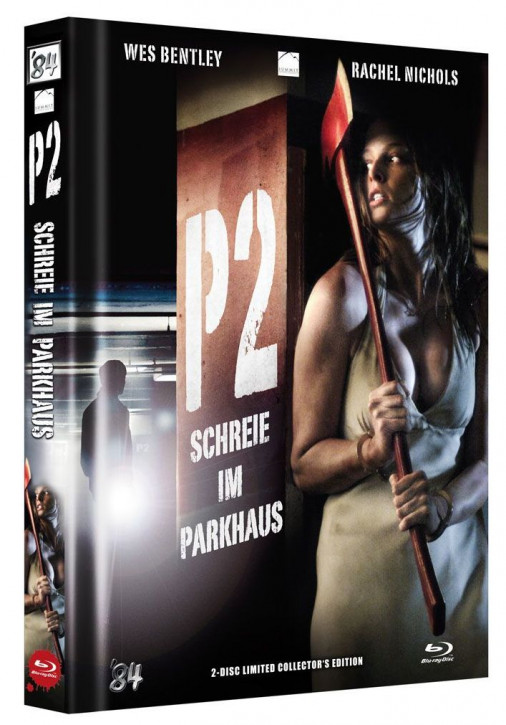 P2 - Schreie im Parkhaus - Limited Collector's Edition - Cover A [Blu-ray+DVD]