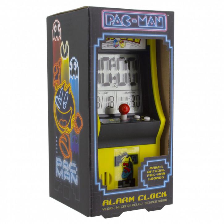 Wecker mit LED Anzeige - Pac-Man