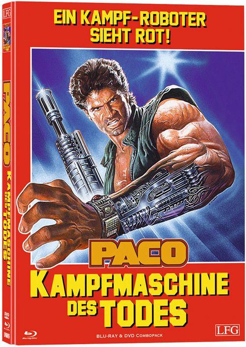 Paco - Die Kampfmaschine des Todes - Mediabook - Cover A [Blu-ray+DVD]