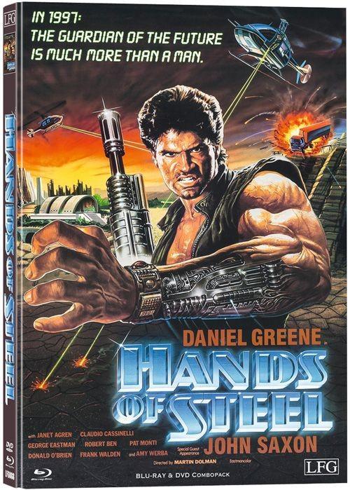 Paco - Die Kampfmaschine des Todes - Mediabook - Cover B [Blu-ray+DVD]