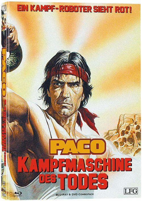 Paco - Die Kampfmaschine des Todes - Mediabook - Cover C [Blu-ray+DVD]