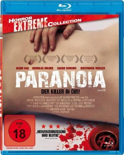 Paranoia - Der Killer in Dir - Horror Extreme Collection [Blu-ray]
