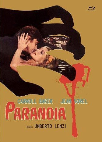 Paranoia - Eurocult Collection #044 - Mediabook - Cover B [Blu-ray+DVD]