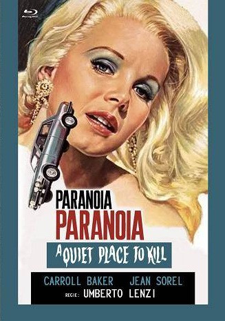 Paranoia - Eurocult Collection #044 - Mediabook - Cover C [Blu-ray+DVD]